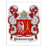 Pskowczyk Coat of Arms Small Poster