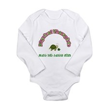 Funny Physical therapist Long Sleeve Infant Bodysuit