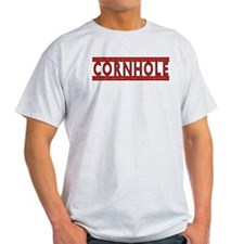 Cornhole Ash Grey T-Shirt