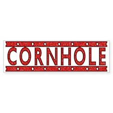 Cornhole Bumper Sticker