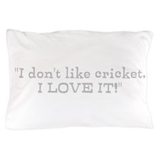 Cricket Fan Pillow Case