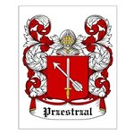 Przestrzal Coat of Arms Small Poster