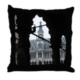 The Central Plaza, Brussels Throw Pillow