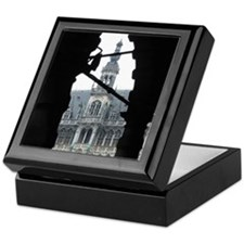 The Central Plaza, Brussels Keepsake Box
