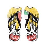 United Arab Emirates Coat Of Arms Flip Flops