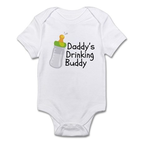 Drinking Buddy.png Infant Bodysuit