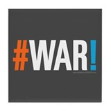 #WAR! Tile Coaster