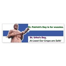 St Urho's Day Bumper Bumper Sticker