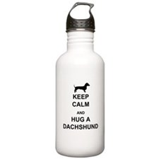 Dachshund - Keep Calm and Hug a Dachshund Stainles