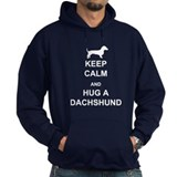 Dachshund - Keep Calm and Hug a Dachshund Hoodie