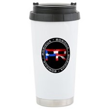 PR BORICUA Ceramic Travel Mug