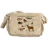 New Hampshire State Animals Messenger Bag
