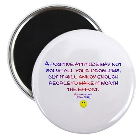 "Positively Annoying 2.25"" Magnet (100 pack)"