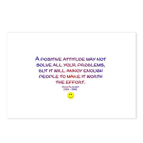Positively Annoying Postcards (Package of 8)