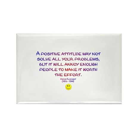 Positively Annoying Rectangle Magnet (100 pack)
