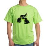 Mallard Ducklings Green T-Shirt