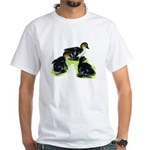 Mallard Ducklings White T-Shirt