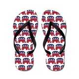 Republican Elephant (Mini) Flip Flops