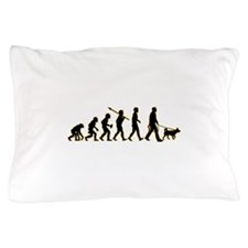 Dog Walker Pillow Case