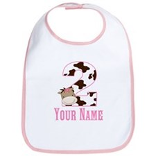 2nd Birthday Girl Horse Bib