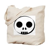 Skull Buddy Tote Bag