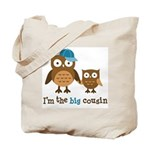 Big Cousin - Mod Owl Tote Bag