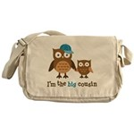 Big Cousin - Mod Owl Messenger Bag