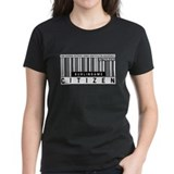 Burlingame, Citizen Barcode, Tee
