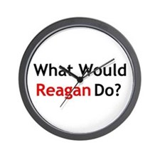What Would Reagan Do? Wall Clock