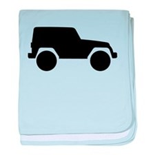 Jeep Outline baby blanket