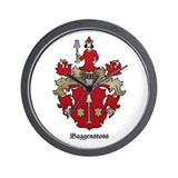 Baggenstoss Shield - Classic Wall Clock