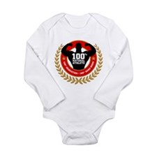 Natural Athlete Long Sleeve Infant Bodysuit