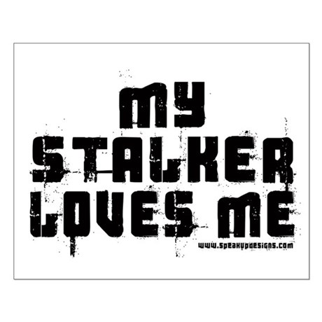 My Stalker Loves Me Small Poster