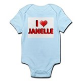 I LOVE BIG BROTHER JANELLE SH Infant Creeper