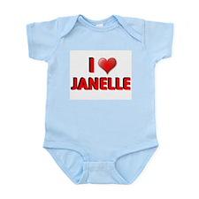 I LOVE BIG BROTHER JANELLE SH Infant Creeper