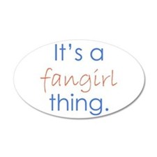 Fangirling Wall Decal