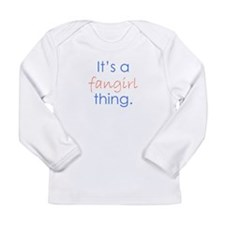 Fangirling Long Sleeve Infant T-Shirt