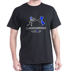 Quadengruven  Black T-Shirt