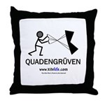 Quadengruven<br> Throw Pillow