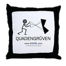 Quadengruven<br> Throw Pillow