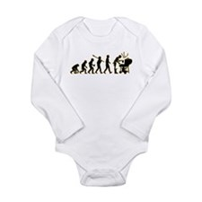BBQ Long Sleeve Infant Bodysuit