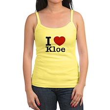 I Love Kloe Jr.Spaghetti Strap