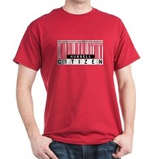 Hubbell Citizen Barcode, T-Shirt