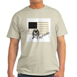 Pugtriotic Gear Ash Grey T-Shirt