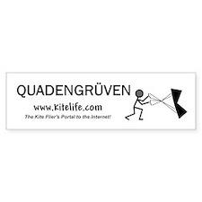 Quadengruven<br>Bumper Bumper Sticker