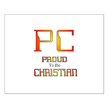 Proud to be Christian Small Poster