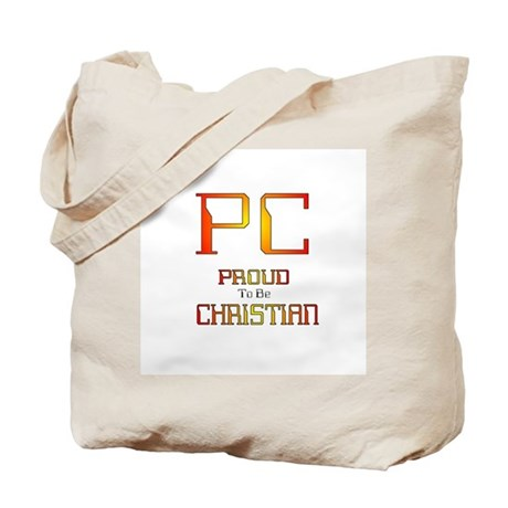 Proud to be Christian Tote Bag