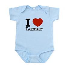 I Love Lamar Infant Bodysuit