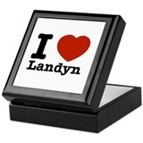 I Love Landyn Keepsake Box