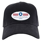 Louisiana-Star Stripes: Baseball Hat